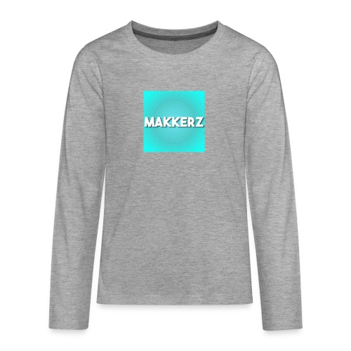 Makkerz Logo 2 - Teenagers' Premium Longsleeve Shirt