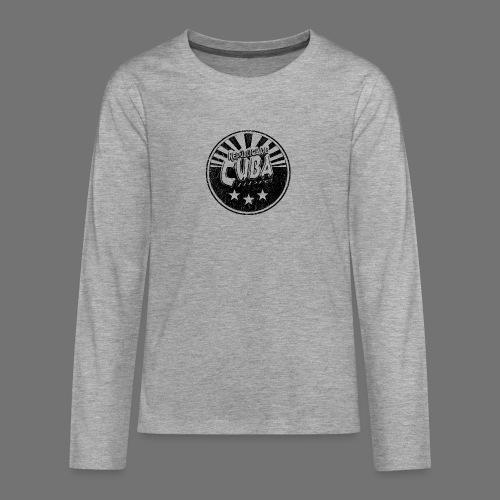 Cuba Libre (1c black) - Teenager Premium Langarmshirt
