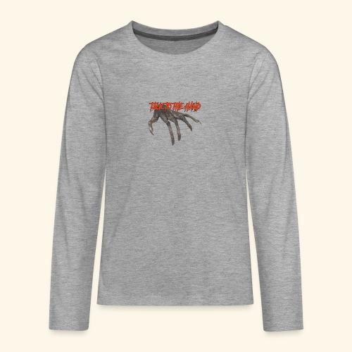 Talk To The Hand - Teenager Premium shirt met lange mouwen