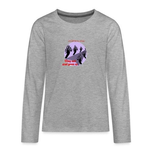 hábitos - Camiseta de manga larga premium adolescente