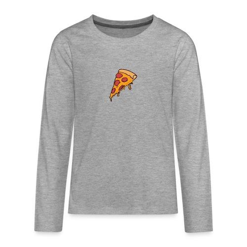 Pizza - Camiseta de manga larga premium adolescente