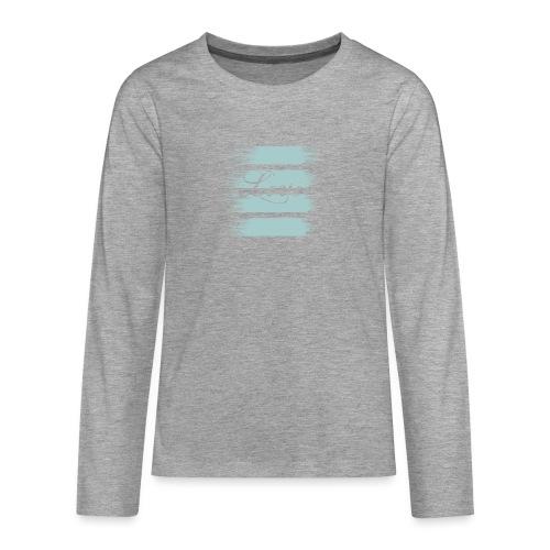 liebe - Teenager Premium Langarmshirt