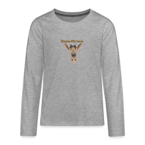 Ziegenflüsterer - Teenager Premium Langarmshirt