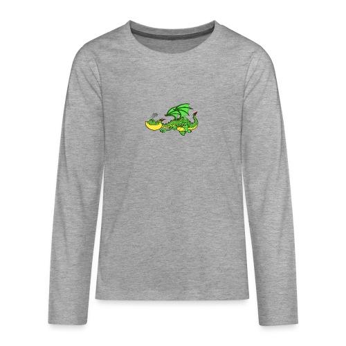 dracarys - Teenager Premium Langarmshirt