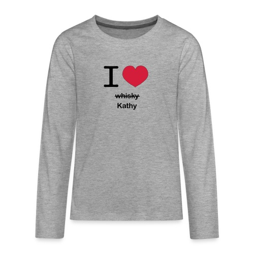 ilovekathy - Teenager Premium shirt met lange mouwen