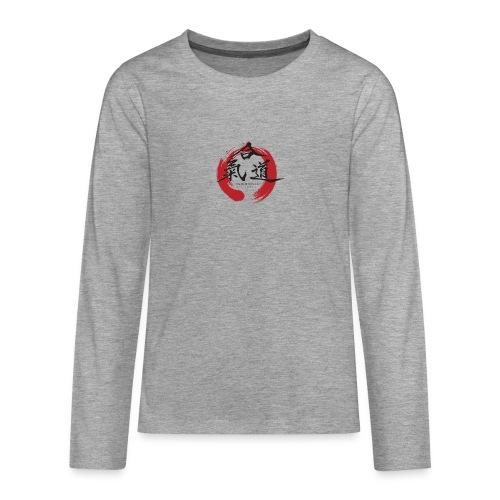 KAK logo black ink - Teenager premium T-shirt med lange ærmer