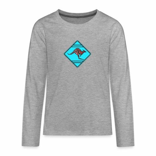 Känguru, Kangooru - Teenager Premium Langarmshirt
