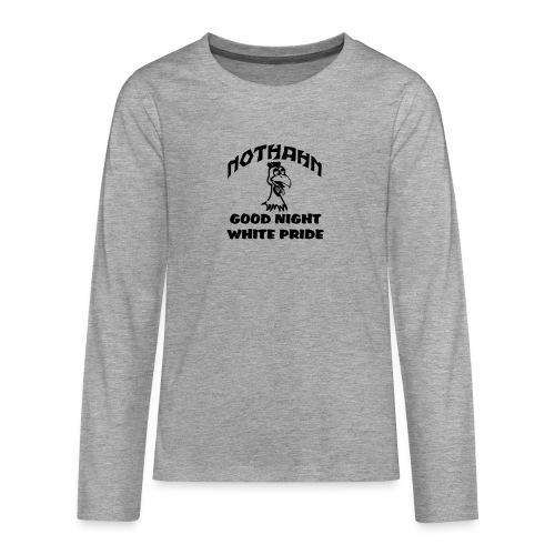 brust_pfad_klein - Teenager Premium Langarmshirt