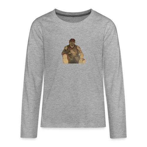 jugador - Camiseta de manga larga premium adolescente