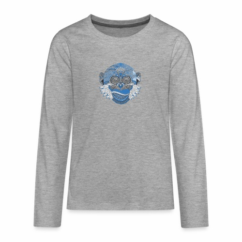Affe - Teenager Premium Langarmshirt