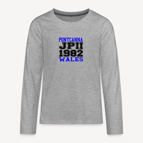 PONTCANNA 1982 - Teenagers' Premium Longsleeve Shirt