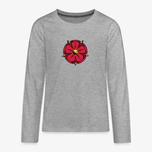 Lippische Rose - Teenager Premium Langarmshirt