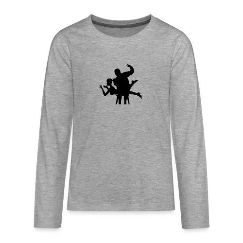 spanking - Teenager Premium Langarmshirt