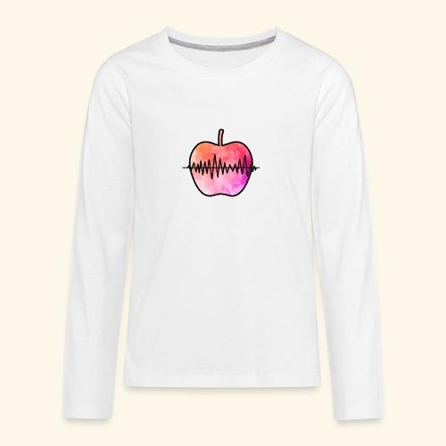 AppleJazzDK Logo - Teenager premium T-shirt med lange ærmer