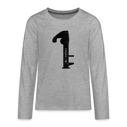 bi zooka - Teenager premium T-shirt med lange ærmer