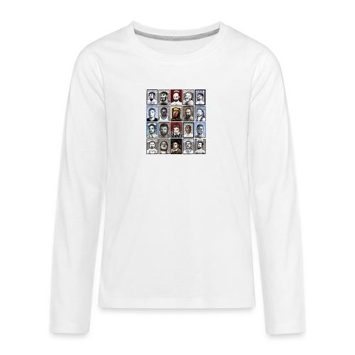 ACEO - Maglietta Premium a manica lunga per teenager