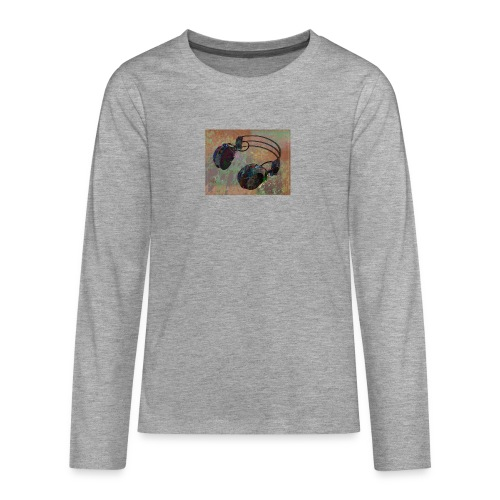 Fashion (dance music) - Teenagers' Premium Longsleeve Shirt
