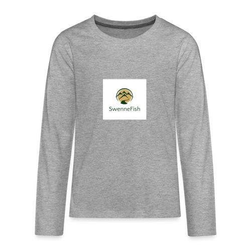 Logo 25 - Teenager Premium shirt met lange mouwen