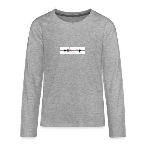 mkcon - Teinien premium pitkähihainen t-paita