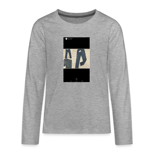 Allowed reality - Teenagers' Premium Longsleeve Shirt