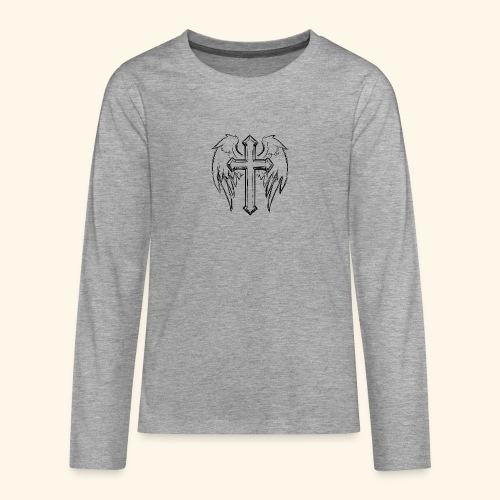 Faith and love - Teenagers' Premium Longsleeve Shirt