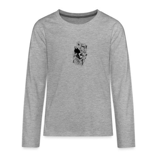 Akasacian tshirt design 611 - Camiseta de manga larga premium adolescente