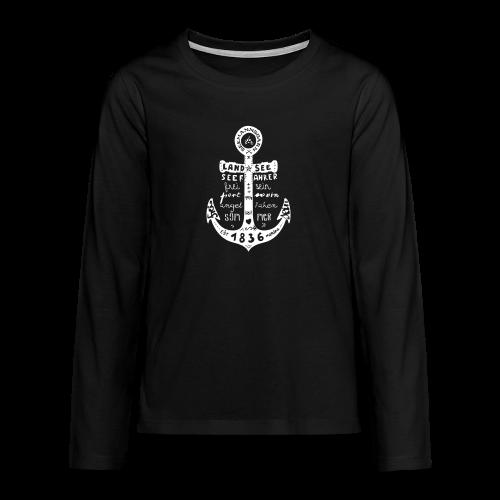 Seemanns Glück ! - Teenager Premium Langarmshirt