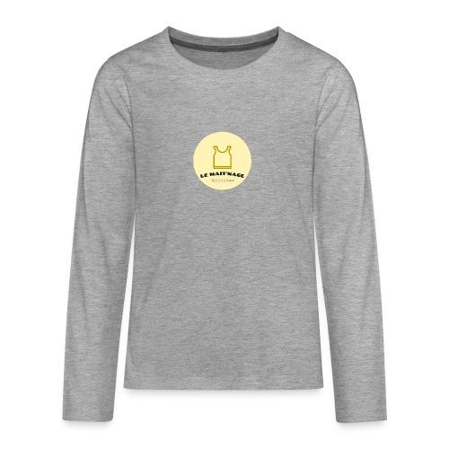 le Mait'Nage prend l'eau - T-shirt manches longues Premium Ado
