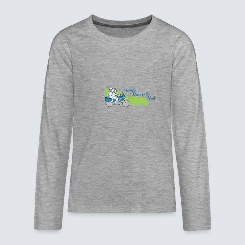 HDC logo - Teenager Premium shirt met lange mouwen