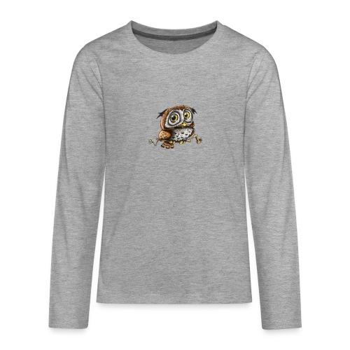 Kleine Eule - Teenager Premium Langarmshirt