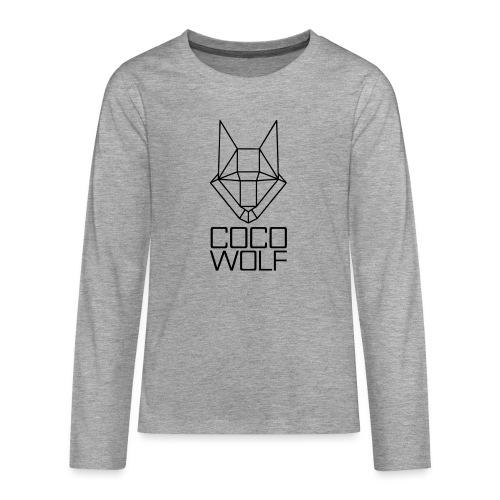 COCO WOLF - Teenager Premium Langarmshirt