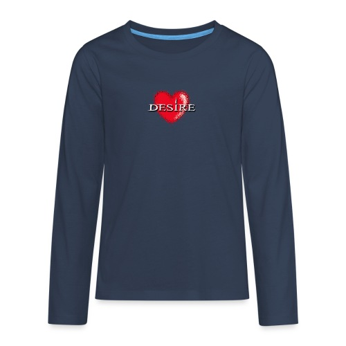 Desire Nightclub - Teenagers' Premium Longsleeve Shirt