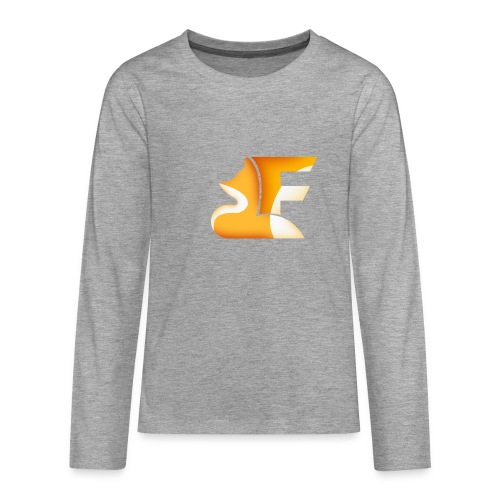 FoxChannel LOGO - Maglietta Premium a manica lunga per teenager