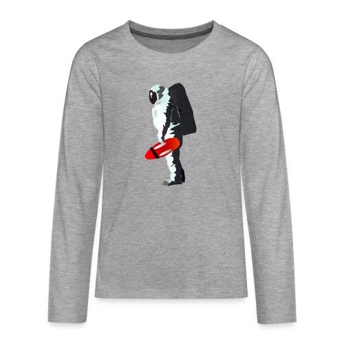Space Lifeguard - Teenagers' Premium Longsleeve Shirt