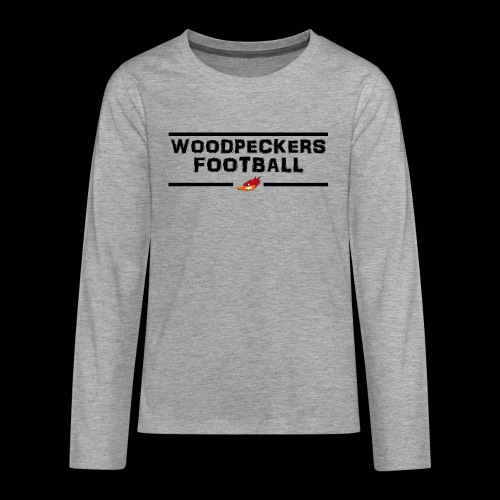 woodpeckersfootball2 - Teenager Premium Langarmshirt