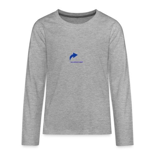 1527348336103 - Långärmad premium T-shirt tonåring