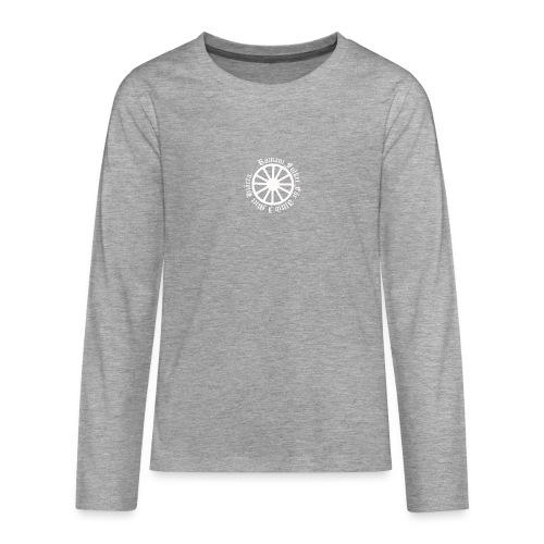 626878 2406639 lennyhjulromanifolketivit orig - Långärmad premium T-shirt tonåring