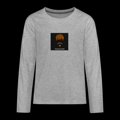 educate yourself - Teenagers' Premium Longsleeve Shirt