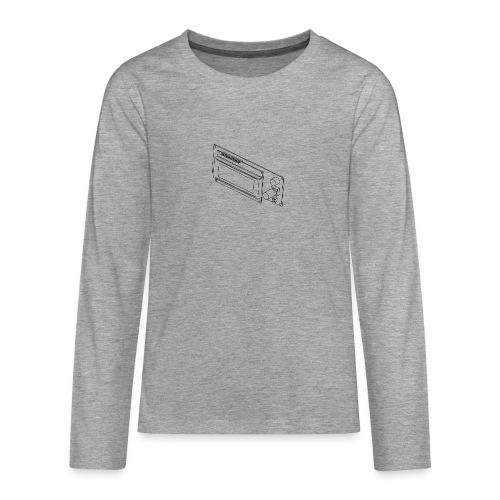 2004LCD (no text). - Teenagers' Premium Longsleeve Shirt