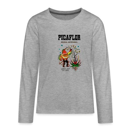 picaflormezcal - Premium langermet T-skjorte for tenåringer