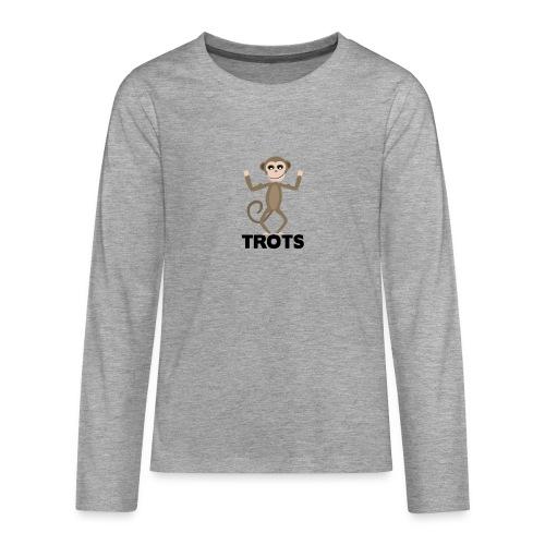 apetrots aapje wat trots is - Teenager Premium shirt met lange mouwen