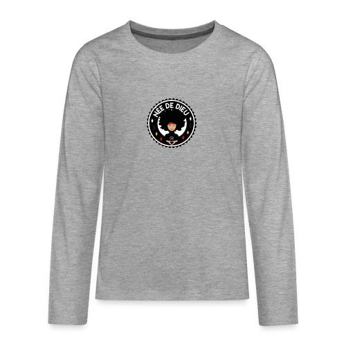 Née de Dieu - T-shirt manches longues Premium Ado