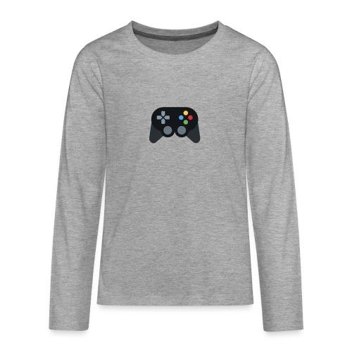 Spil Til Dig Controller Kollektionen - Teenager premium T-shirt med lange ærmer