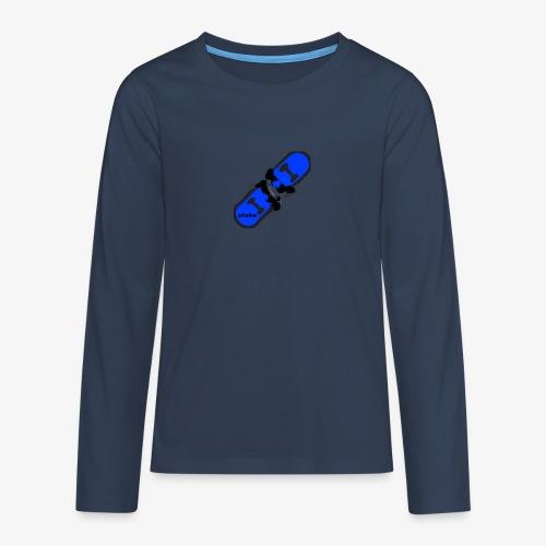 skateboard 512 - Teenager premium T-shirt med lange ærmer
