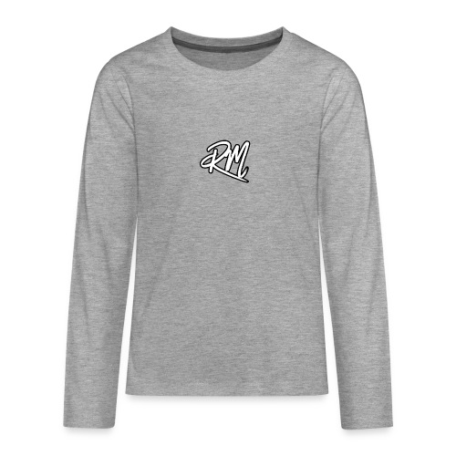Merch Logo - Teenagers' Premium Longsleeve Shirt