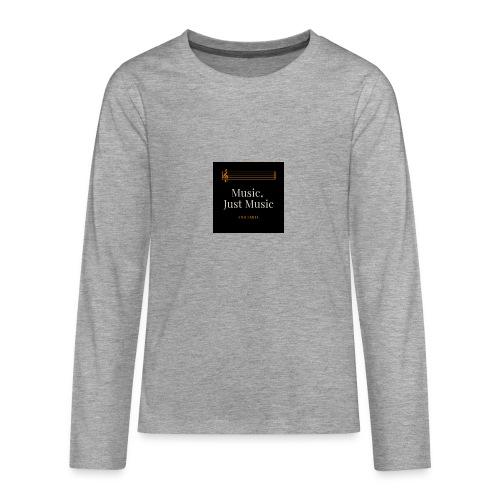 music - T-shirt manches longues Premium Ado