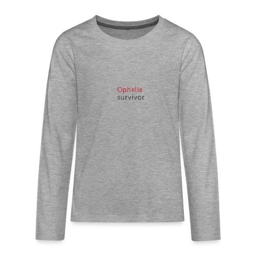Ophelia survivor - Teenagers' Premium Longsleeve Shirt