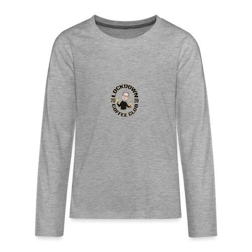Lockdown Coffee Club 2020 - Teenagers' Premium Longsleeve Shirt