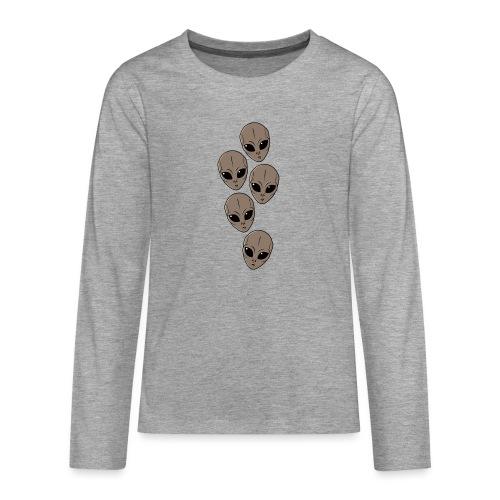 Petits-gris - T-shirt manches longues Premium Ado