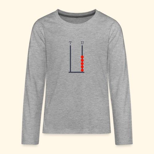 I am 5 - Teenagers' Premium Longsleeve Shirt
